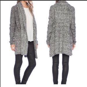 Joie Solone Chunky Knit Oversized Long Cardigan
